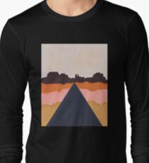 Cool Wind Desert Road Long Sleeve T-Shirt