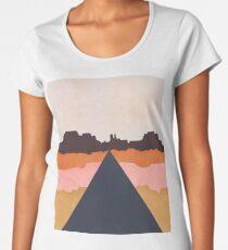 Cool Wind Desert Road Premium Scoop T-Shirt