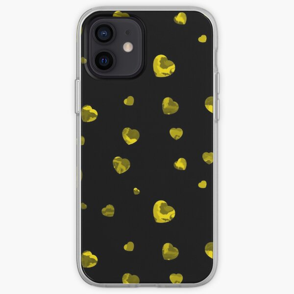 Chaotic Hearts, Dapple Series - Yellow iPhone Soft Case