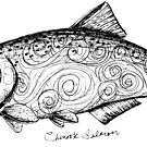 Chinook Salmon by Laura Maxwell