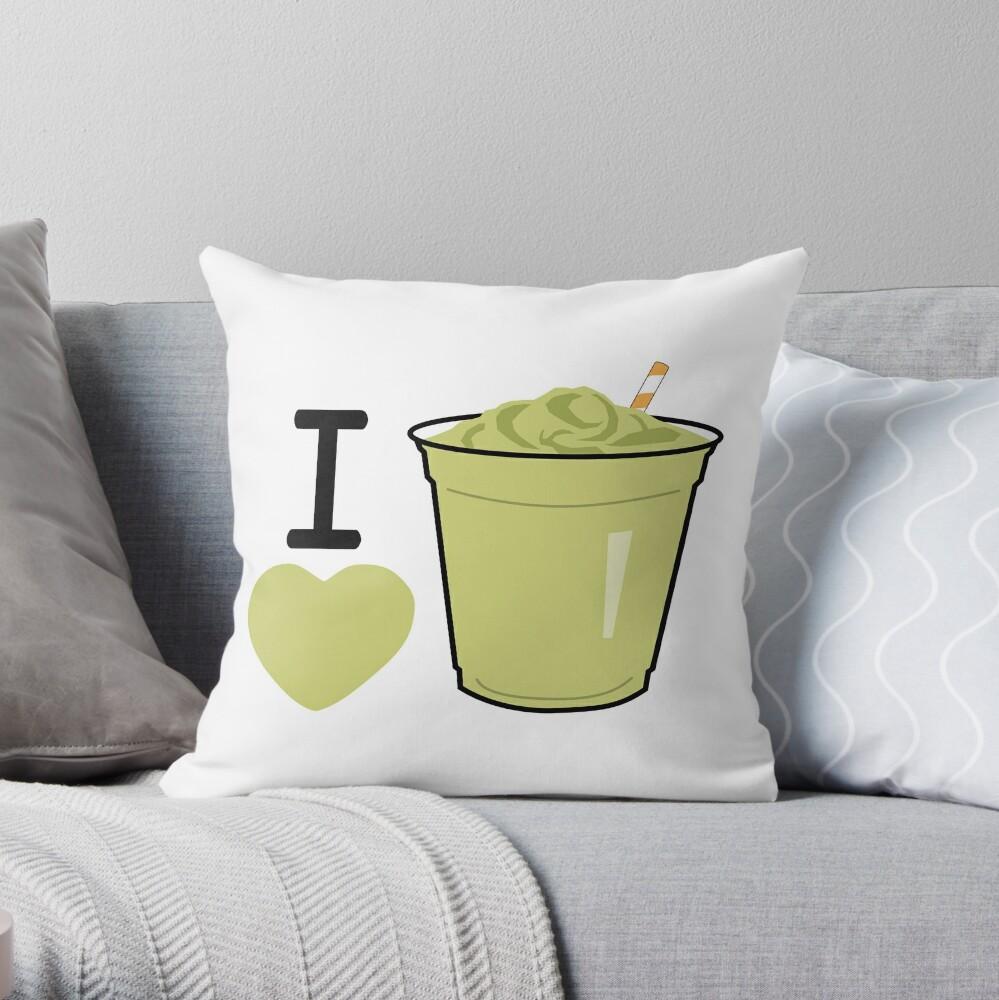 I Lubba Vegan Smoothies Third Culture Series Throw Pillow