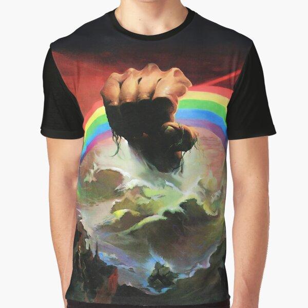 Rainbow Rising Graphic T-Shirt