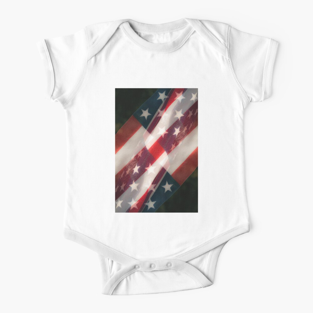 Stars And Stripes Baby One-Piece
