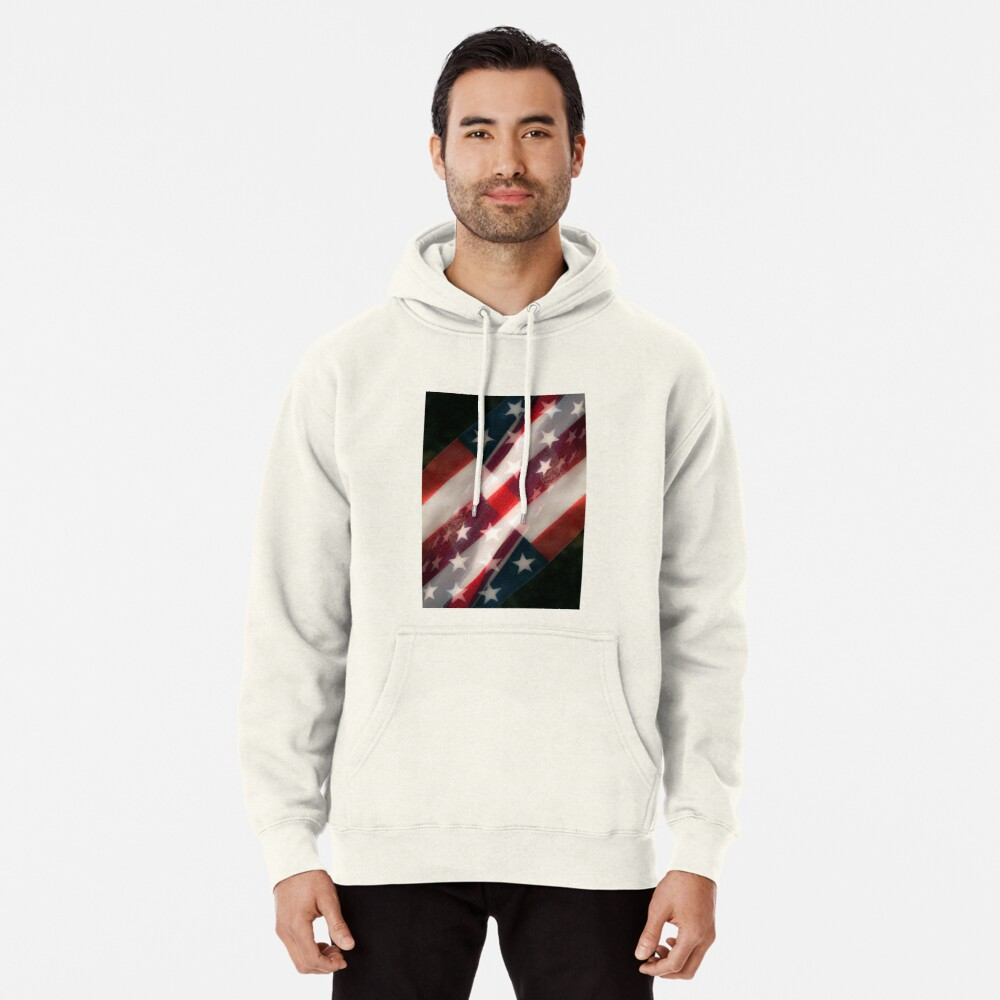 Stars And Stripes Pullover Hoodie