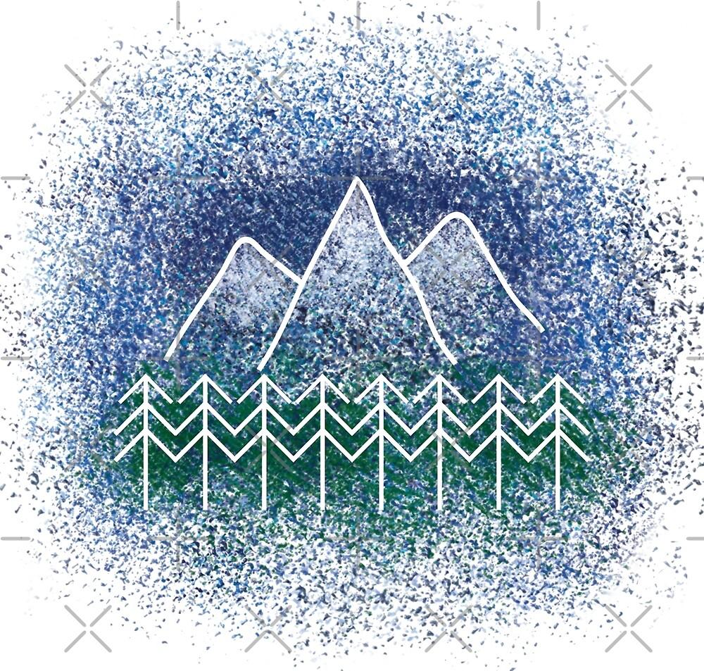 Mountain Landscape by JEGS