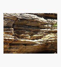 Cambrian Ridges-Ancient Rock Photographic Print