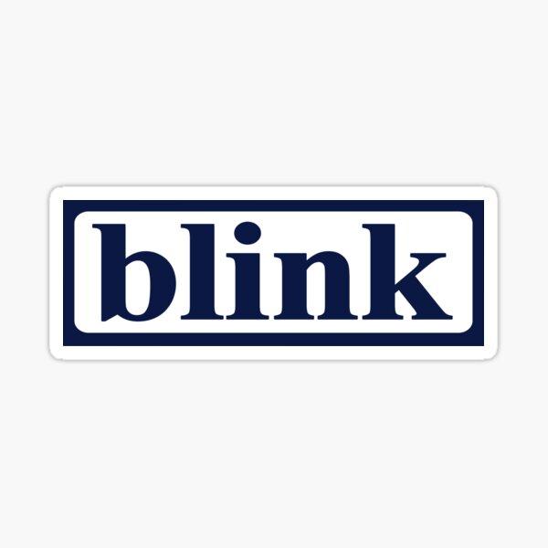 Vintage Blink 182 (Pre-182) Logo Design Sticker Sticker