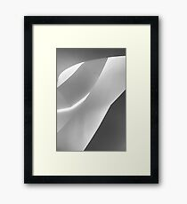Monochrome Abstract Framed Print