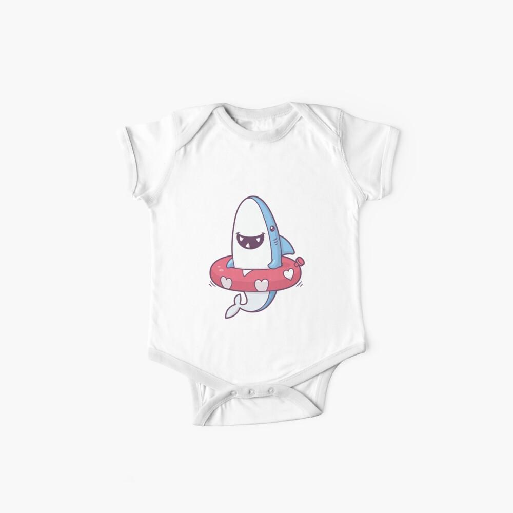 Shark Summer Fun Baby One-Piece