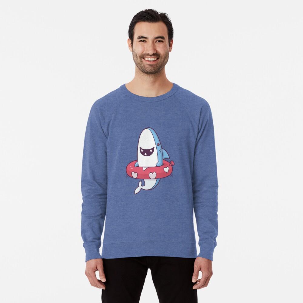 Shark Summer Fun Lightweight Sweatshirt