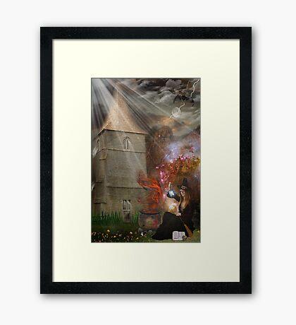 Mystikal Night Framed Print