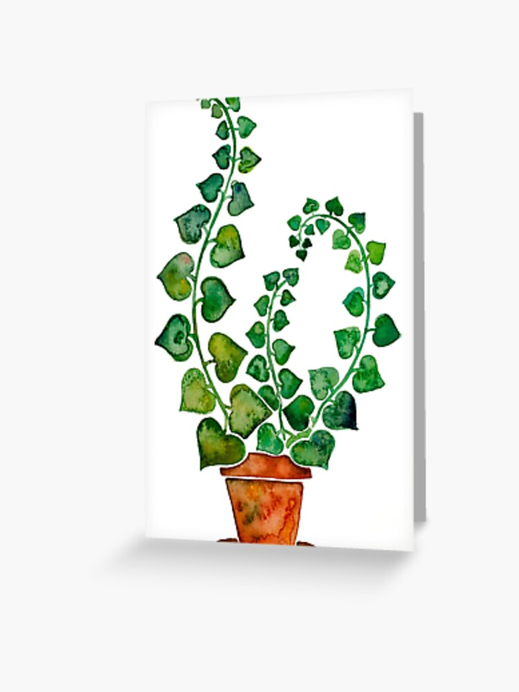 Ivy Heart Greeting Card