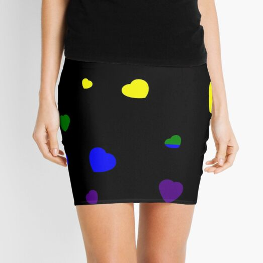 Chaotic Hearts, Pride Series - LGBT Mini Skirt