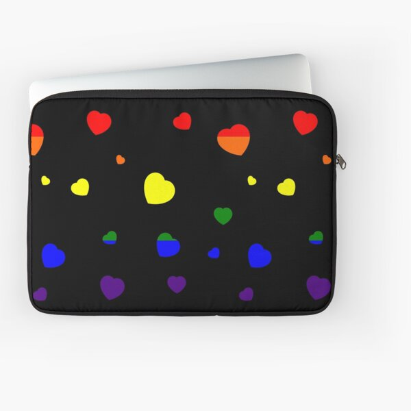 Chaotic Hearts, Pride Series - LGBT Laptop Sleeve