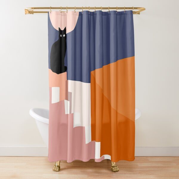 the double Shower Curtain