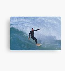 Chased By Water Canvas Print
