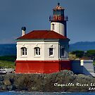 Coquille River Lighthouse in Bandon, Oregon by Chrissy Ferguson