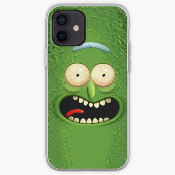 The Incredible Pickle Rick iPhone Soft Case