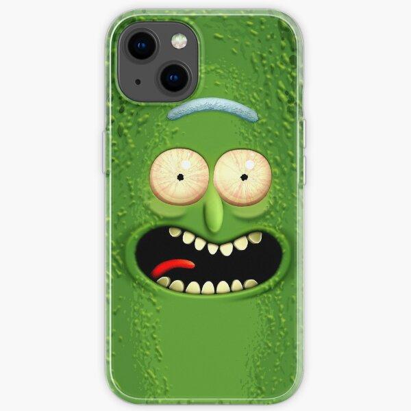El increíble Pickle Rick Funda blanda para iPhone