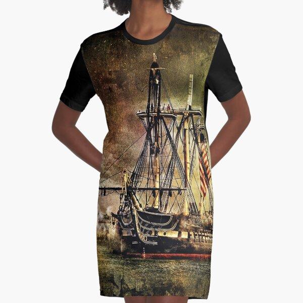 USS Constitution  Graphic T-Shirt Dress
