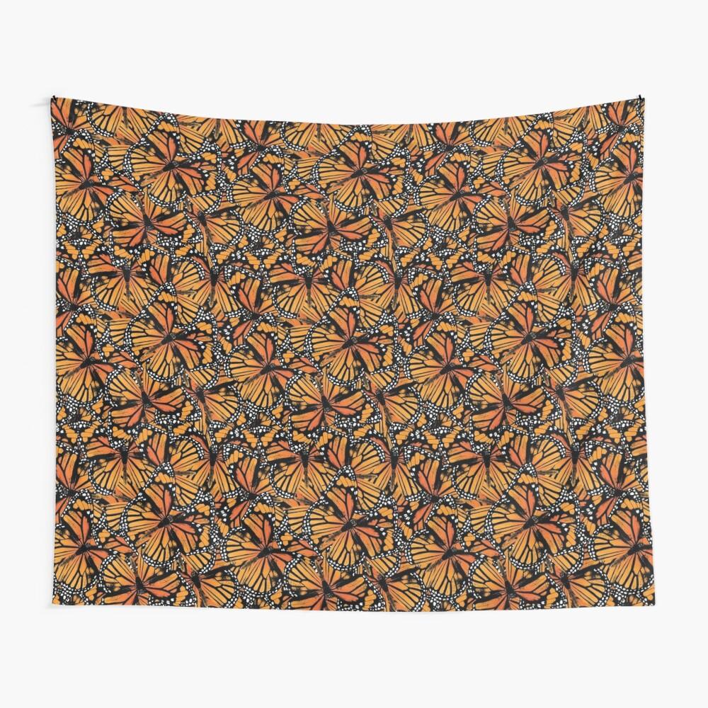 Monarch Butterflies | Vintage Butterflies | Butterfly Patterns |  Wall Tapestry