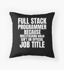 Cojín de suelo Programmer Computer scientist multitasking
