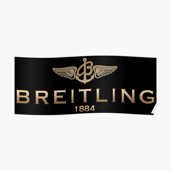 Breitling Watch Poster