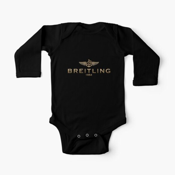 Breitling Watch Long Sleeve Baby One-Piece