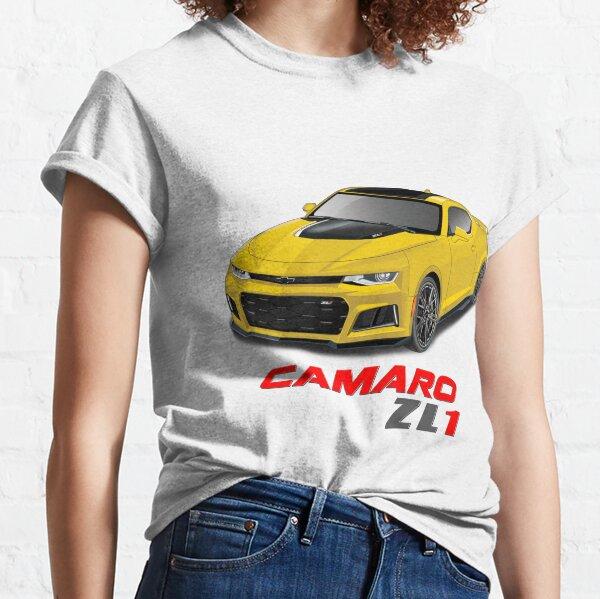 2018 2017 CAMARO ZL1LE 6th GEN T-SHIRT 2016 2019 ZL1 1LE GM OFFICIALLY LICENSED