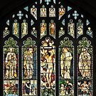 The East Window of Troutbeck Church, Cumbria by Dave Lawrance