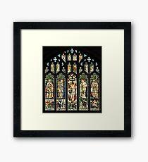 The East Window of Troutbeck Church, Cumbria Framed Print