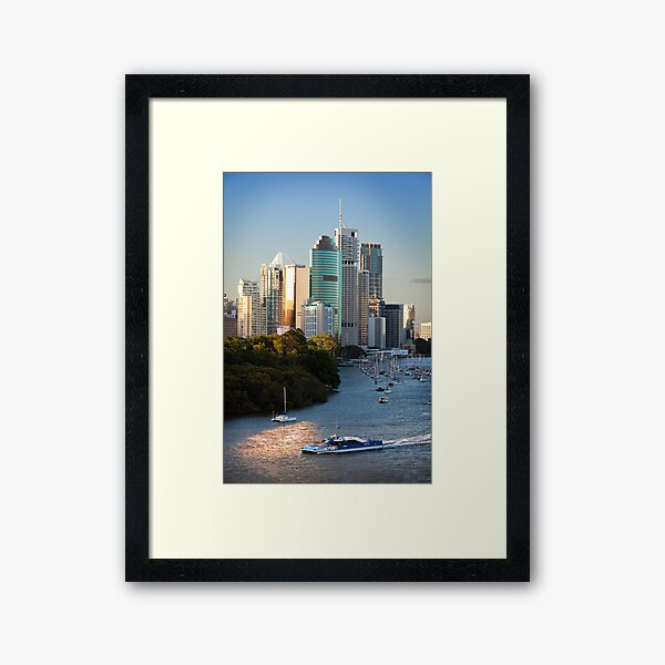 River City Framed Art Print