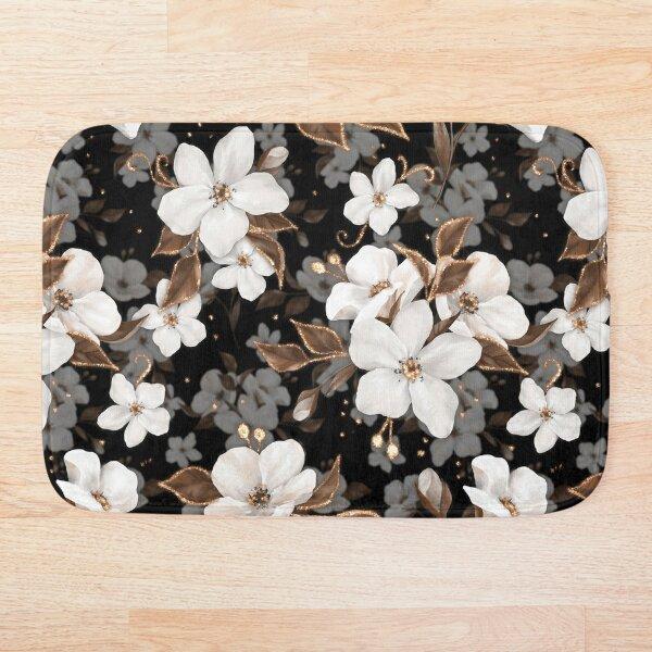 Fleurs de pomme Tapis de bain