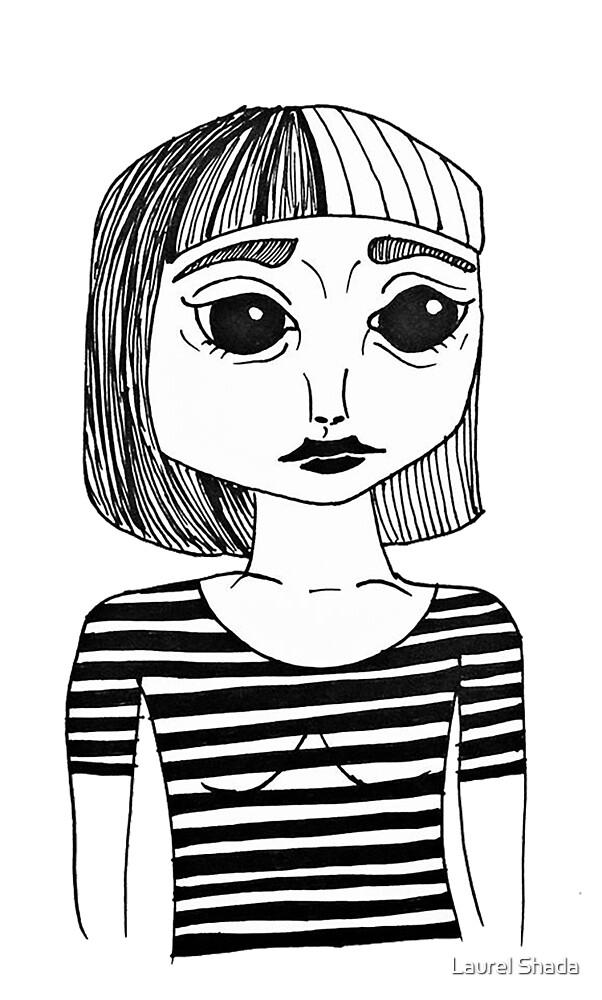 Self Portrait by Laurel Shada