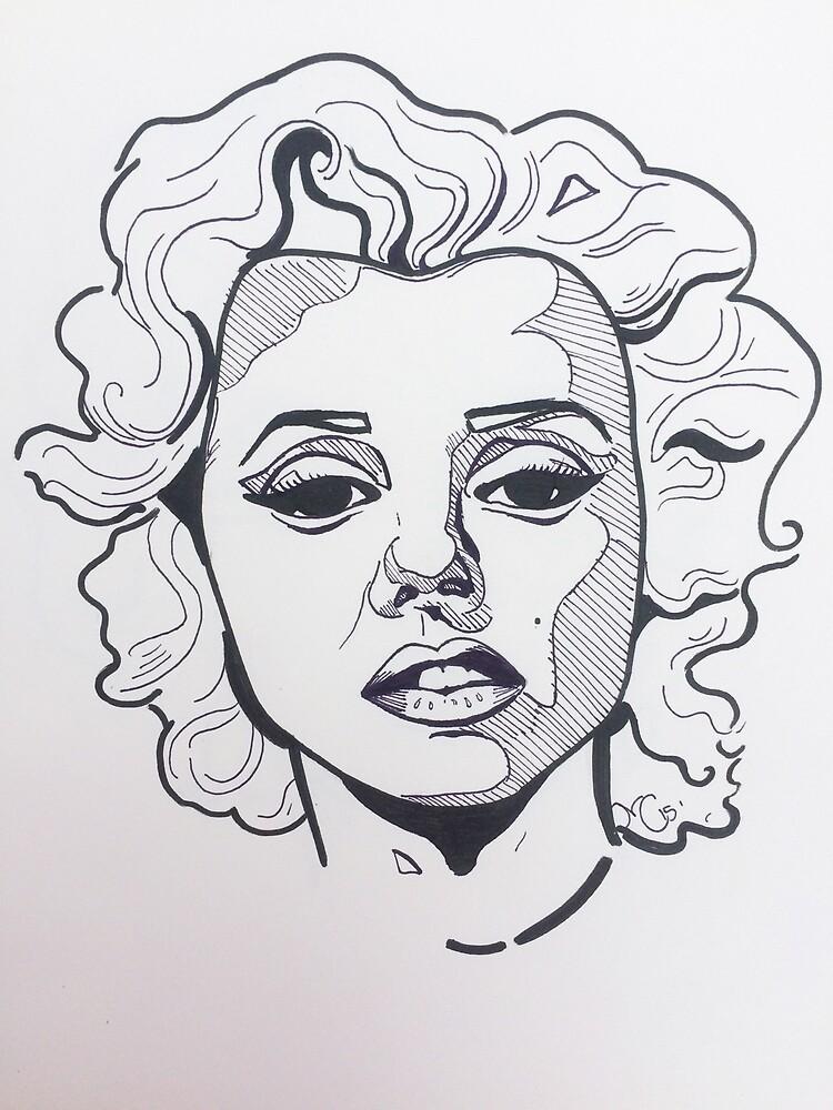 Marilyn by carlscanvas