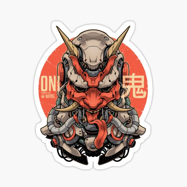 ONI MECHA Sticker