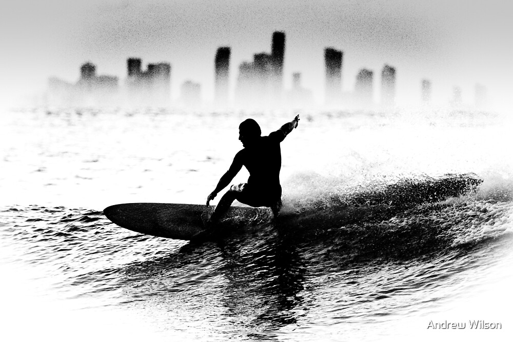 Surfing the waves of Queensland by Andrew Wilson