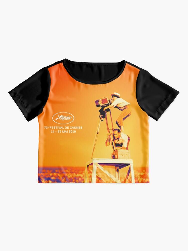 Alternative Ansicht von Cannes Film Festival, 72. (2019) ⛔ HQ-Qualität Chiffon Top