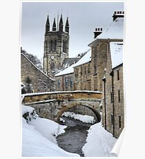 Helmsley Winter  Poster