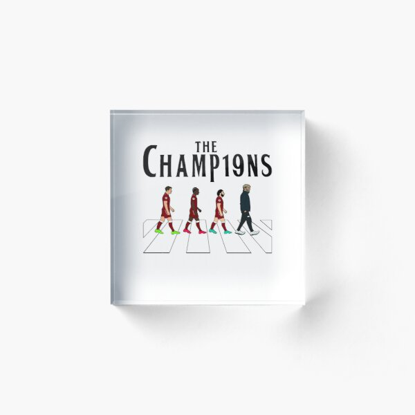 Liverpool FC: The Champions Acrylic Block