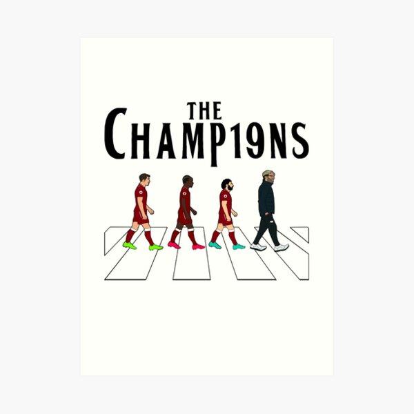 Liverpool FC: The Champions Art Print