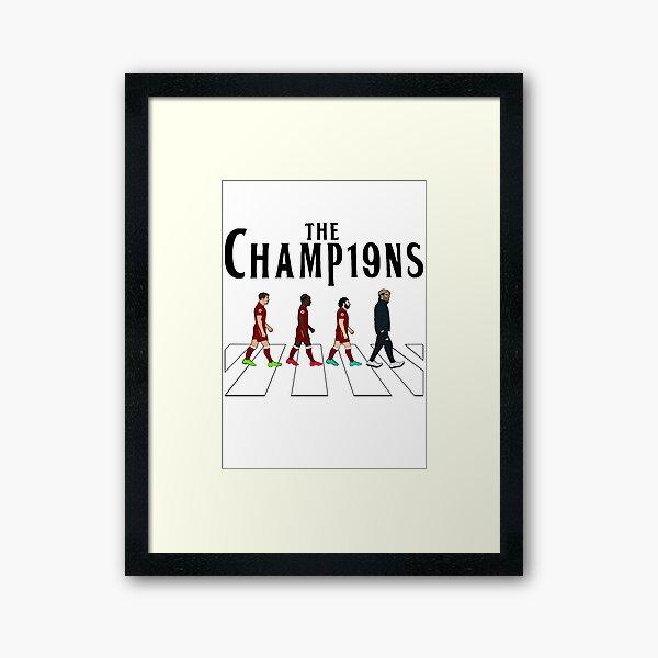 Liverpool FC: The Champions Framed Art Print