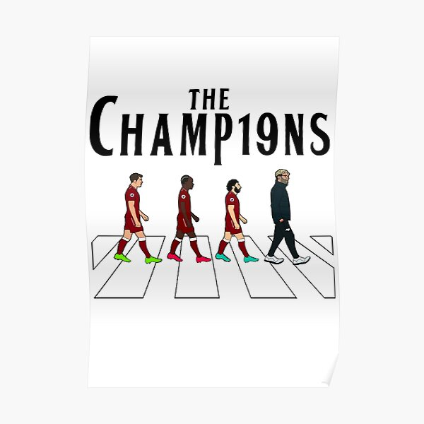 Liverpool FC: The Champions Poster