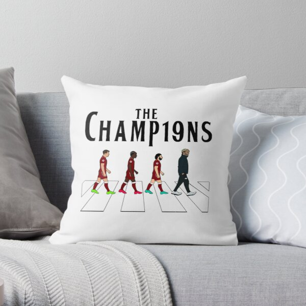 Liverpool FC: The Champions Throw Pillow