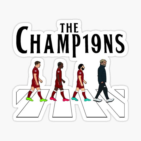 Liverpool FC: The Champions Sticker