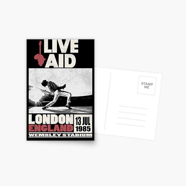 Live Aid at Wembley Postcard