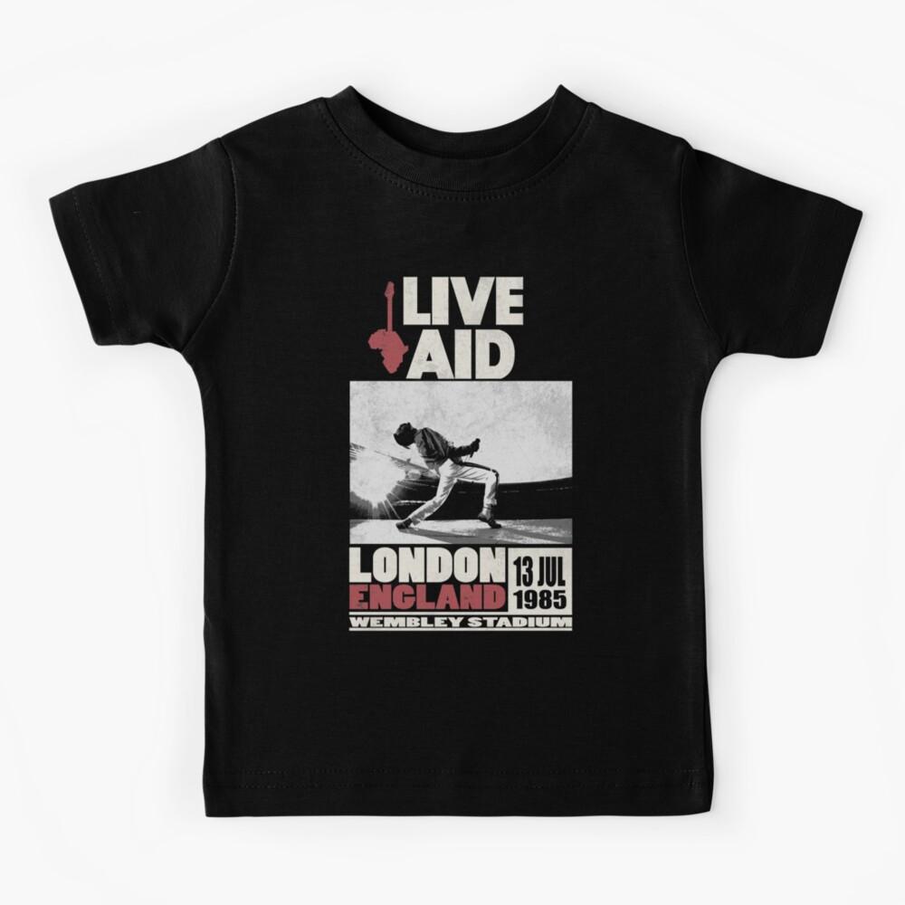 Live Aid at Wembley Kids T-Shirt