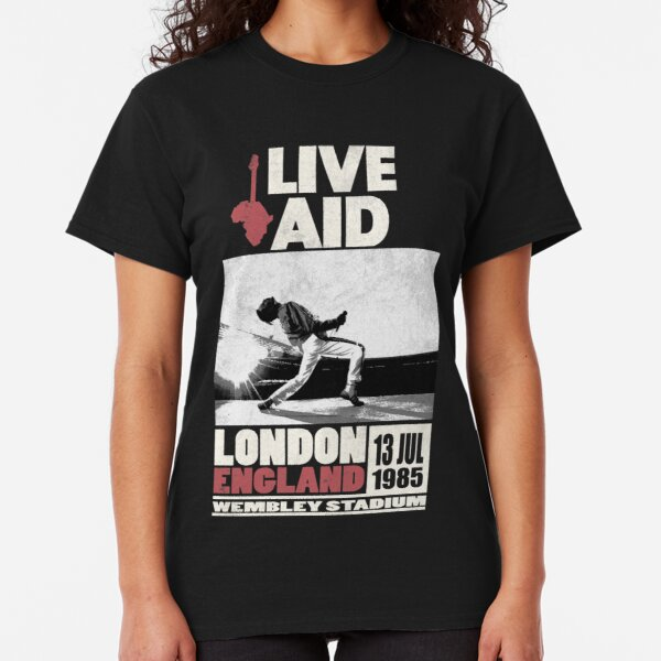 Live Aid at Wembley Classic T-Shirt