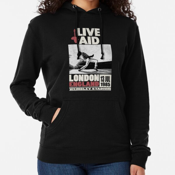 Live Aid at Wembley Lightweight Hoodie