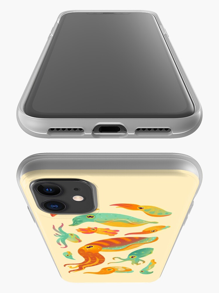 Alternate view of Cuttlefish iPhone Case & Cover